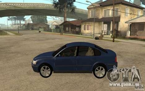 VW Passat B5 1.8T pour GTA San Andreas laissé vue