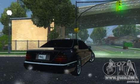 Mercedes-Benz 600SEC für GTA San Andreas zurück linke Ansicht
