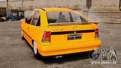 Opel Kadett GL 1.8 1996 pour GTA 4 Vue arrière de la gauche