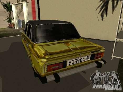 VAZ 2106 (Gold) für GTA San Andreas linke Ansicht