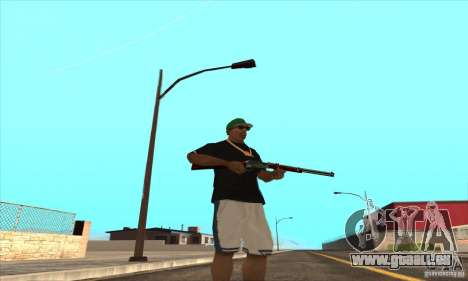 WEAPON BY SWORD pour GTA San Andreas neuvième écran
