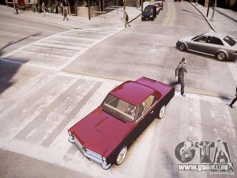 Pontiac GTO 1965 Custom discks pack 1 für GTA 4 rechte Ansicht