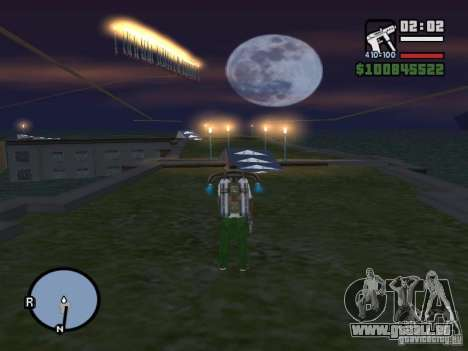 Night moto track V.2 für GTA San Andreas siebten Screenshot