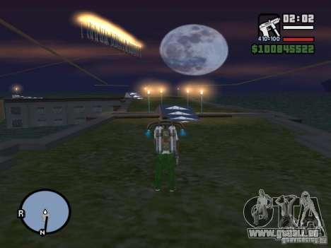 Night moto track V.2 pour GTA San Andreas septième écran