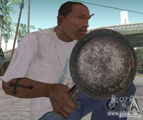 Poêle à frire pour GTA San Andreas deuxième écran