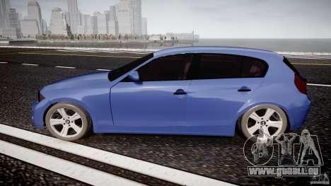 BMW 118i für GTA 4 linke Ansicht