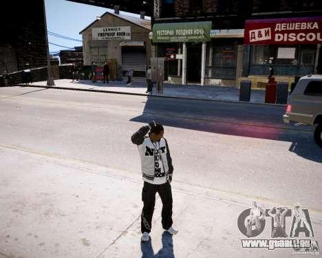 Niko - Cj pour GTA 4 troisième écran