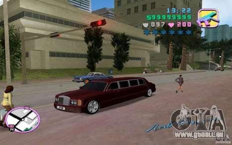 Rolls Royce Silver Seraph pour une vue GTA Vice City de la droite