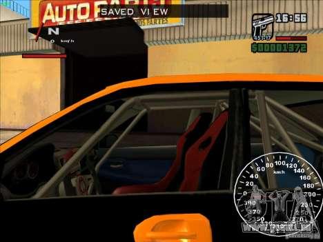 Subaru Impreza WRX Sti 2006 Elemental Attack pour GTA San Andreas vue intérieure