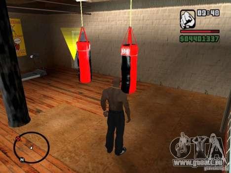 Punshbag pour GTA San Andreas troisième écran