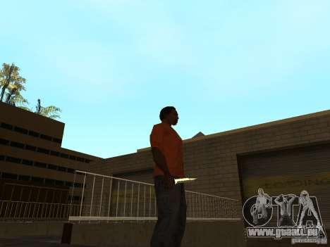 Knife Chrome pour GTA San Andreas deuxième écran