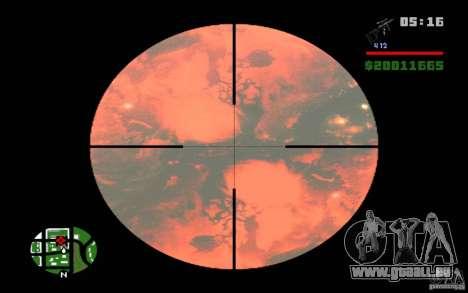 Nibiru-planète X pour GTA San Andreas deuxième écran
