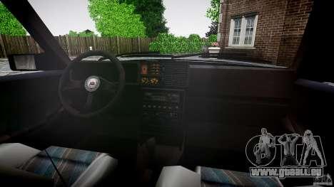 Lancia Delta HF 4WD pour GTA 4 est une vue de dessous