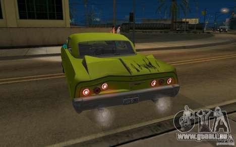 Chevrolet Impala SS 1964 pour GTA San Andreas vue de droite