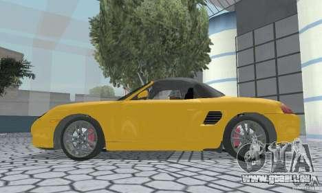 Porsche Boxster pour GTA San Andreas vue de droite