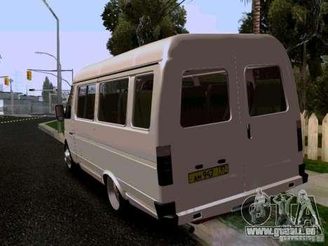 Gazelle 32213 1994 für GTA San Andreas linke Ansicht