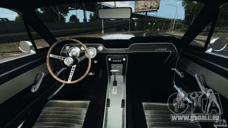 Shelby GT 500 Eleanor für GTA 4 Rückansicht