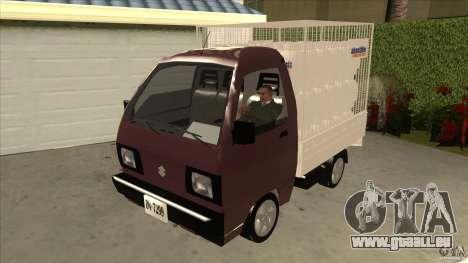 Suzuki Carry 4wd 1985 Abastible für GTA San Andreas