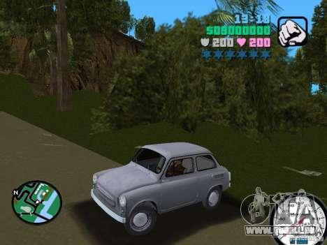 ZAZ 965 pour GTA Vice City sur la vue arrière gauche