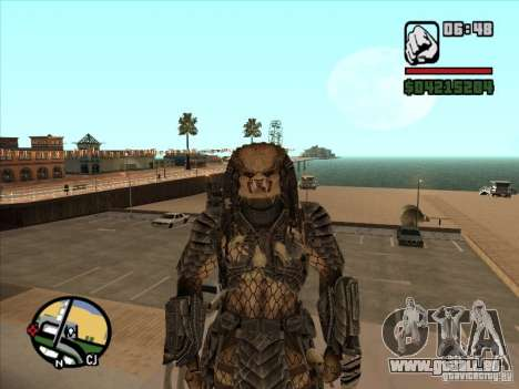 Predator Predator pour GTA San Andreas