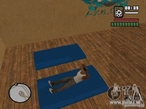 Training and Charging 2 pour GTA San Andreas septième écran