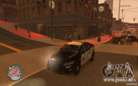 Ford Taurus Police pour GTA 4