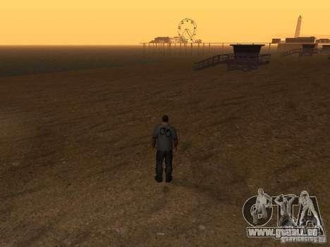 HD Santa Maria Beach pour GTA San Andreas cinquième écran