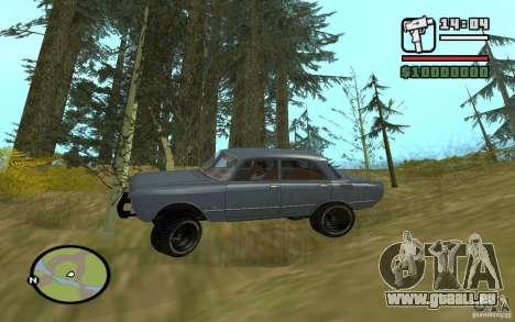 AZLK-2140 4x4 pour GTA San Andreas vue de droite