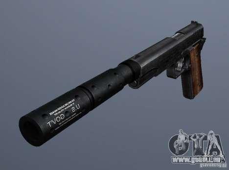 SilencedM1911 pour GTA San Andreas