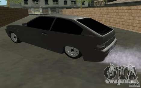 Coupe de VAZ-2112 pour GTA San Andreas laissé vue