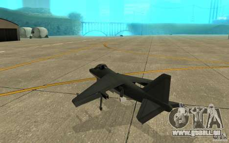 Real Hydra Skin pour GTA San Andreas vue de droite