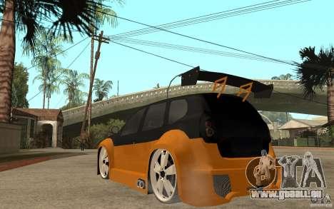 Dacia Duster Tuning v1 pour GTA San Andreas sur la vue arrière gauche