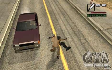 CJ chasse V 2.0 pour GTA San Andreas deuxième écran