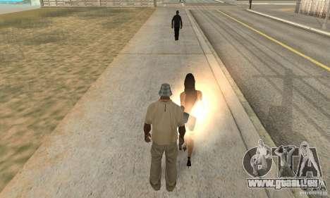 SuperClon (les gens de clonage dans SAN ANDREAS) pour GTA San Andreas deuxième écran