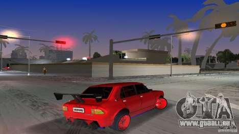 Zastava 110 GT pour une vue GTA Vice City de la gauche