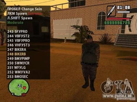 GTA IV peds to SA pack 100 peds pour GTA San Andreas septième écran