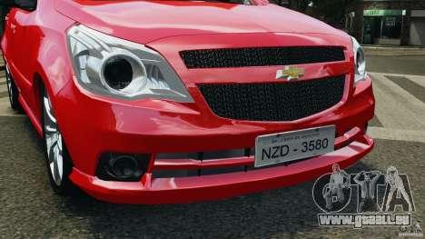 Chevrolet Agile für GTA 4 Seitenansicht