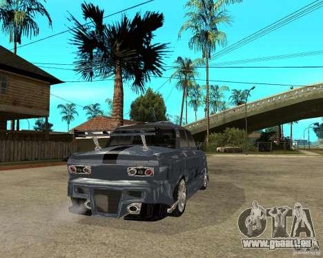AZLK 2140 SX-Tuned pour GTA San Andreas sur la vue arrière gauche