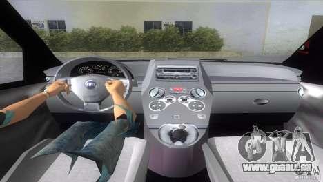 Fiat Panda 2004 pour GTA Vice City sur la vue arrière gauche
