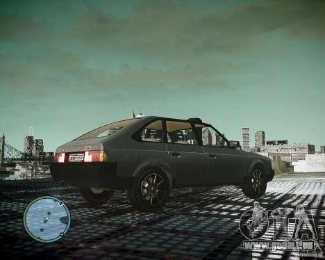 Moskvitch AZLK 2141 pour GTA 4 Vue arrière