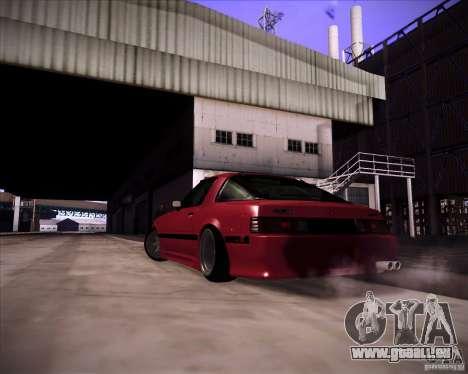 Mazda RX7 FBS3 pour GTA San Andreas laissé vue
