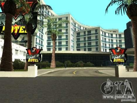 Nouvelles textures pour le V-Rock pour GTA San Andreas deuxième écran