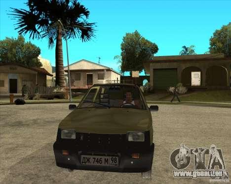 OKA 1111 Kamaz für GTA San Andreas Rückansicht