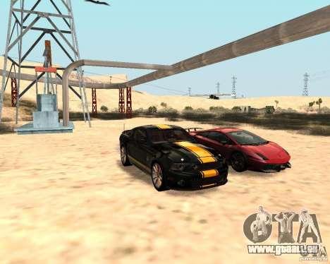 ENBSeries by Nikoo Bel pour GTA San Andreas deuxième écran