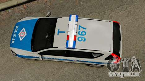 Kia Ceed 2011 SW Polish Police ELS pour GTA 4 est un droit