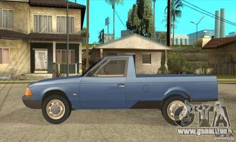 AZLK 2335 für GTA San Andreas linke Ansicht