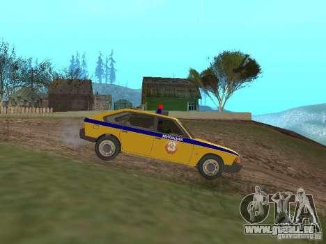 2141 AZLK GAI pour GTA San Andreas laissé vue