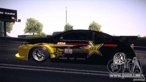 Scion TC Rockstar Team Drift für GTA San Andreas rechten Ansicht