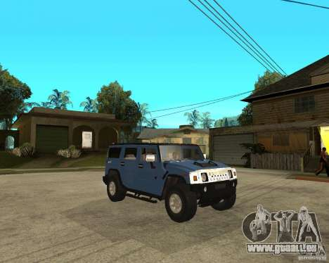 AMG H2 HUMMER für GTA San Andreas rechten Ansicht