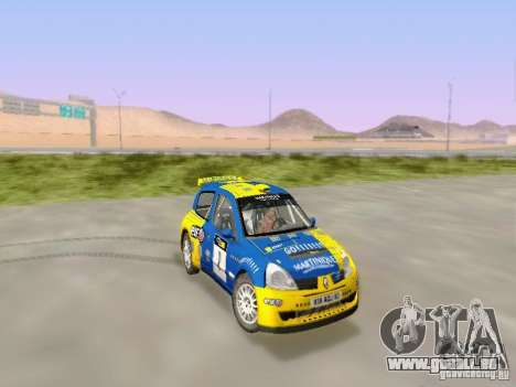Renault Clio Super 1600 pour GTA San Andreas